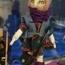 Тряпичная кукла ручной работы «Кукла-большеножка»
