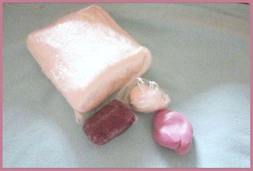 окрашенная полимерная глина