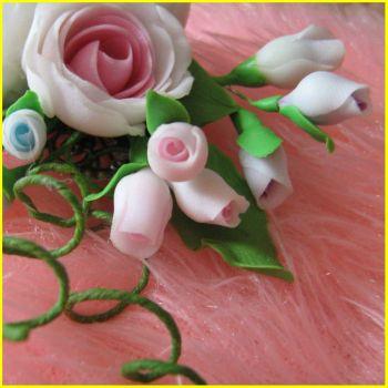 Сделать Все цветы из полимерной глины своими